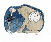 Milo and Tock from The Phantom Tollbooth