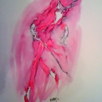 Lady Be Good (Red Astaire), 2011, 20 x 15 in.