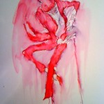 Can't Be Bothered Now (Red Astaire), 2011, 20 x 15 in.