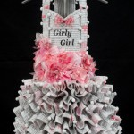 Donna Rosenthal, Girly Girl, 2015, beauty and health books, mixed media, 63 x 16.6 x 17 in.