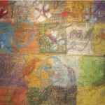 Pinwheel, 1998, oil on canvas, 49 x 61 in.