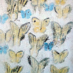 Swallowtails, 2006, oil on canvas, 24 x 18 in.