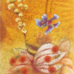 Persian Berry, 2014, pastel on paper, 30 x 22 in.
