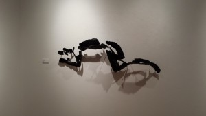 Reclining Figure, 2013, 3D print, 60 x 20 x 9 in.