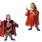 Betty With Red Dress, 1993, bronze, 17 in. high