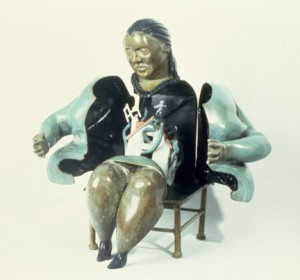 Big Mama, 1993, bronze, 14 in. high
